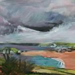 Peri Taylor Looking towards Bantham Beach Wychwood Art 8-4bac8dd6