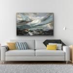 Remembering Light Across The Shore – White Background – Helen Howells-e881e766