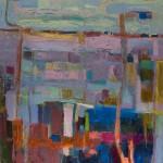 Teresa Pemberton Wychwood Burren Run 170 x 71 cm oil on canvas 1,800  -52430f02