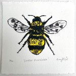 Vicky Oldfield, Garden Bumblebee, Wychwood Art, Screen print, Contemporary art, bee picture, w, jpeg-3a0104af