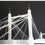 michael wallner_Albert Bridge (black)_aluminium_white border_wychwood art-67891539