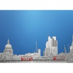 michael wallner_Waterloo Bridge_aluminium_white background_wychwood art-c9ef8cb9