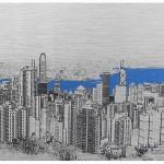 michael wallner_the peak_hong kong_white background_wychwood art-c92fdbf0