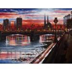 Battersea Bridge Oil WB 2014 51 x 76 cm (20 x 30 inch) Wychwood Art-6e2cc1ed
