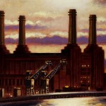 Battersea from Vauxhall Bridge detail 1 Oil 2012 76 x 51 cm (30 x 20 inch) Wychwood Art-152a48e2