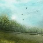 Cathryn Jeff Blue Sky Rising detail1 Wychwood Art-064fcd91