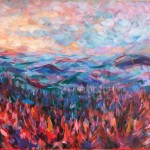 Charmaine Chaudry Above the Woods Wychwood Art Landscape-7587633a