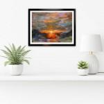 Charmaine Chaudry Fire Sky Wychwood Art Insitu Landscape-1c58b938