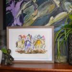 Chasing the leader.Garth Bayley.wychwood art.5-32216f1c