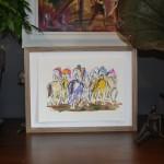 Chasing the leader.Garth Bayley.wychwood art.6-347decfa