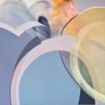 Claire Chandler Sunshine on a rainy day 85 x 95cm Wychwood Art-71ef820d