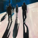Eleanor Woolley | Street Shadows 4 | Landscape | Figurative | Expressionistic-a43c6798