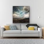 Emerging Light Across The Valley (White Background) – Helen Howells-dd852c4a