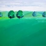 Green trees II Georgie dowling wychwood art 02-b0a4da5a