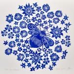 Jess Harrington Bee & Flowers Wychwood Art-1980e836