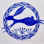 Jess Harrington Leaping Hare Signed Wychwood Art-db8077df