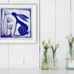 Jess Harrington Wild Blue Hare Insitu Wychwood Art-43743872