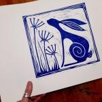 Jess Harrington Wild Blue Hare Side Wychwood Art (2)-7017a802