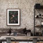Jo Haran Woodland Stems on Dark Wychwood Art4-14b2fc14