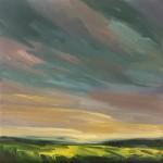 Suzanne Winn Across The Rapefield II Wychwood Art Original Landscape Painting-c3ad510c