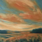 Suzanne Winn Late Summer Wychwood Art Original Landscape Painting-57d26b3a