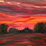 Suzanne Winn Red Sky At Night II Detail I-635ef43a