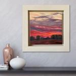 Suzanne Winn Red Sky At Night II In Room-1d6d29c5
