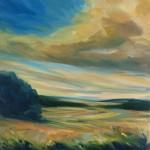 Suzanne Winn Summer Dreaming Wychwood Art Original Landscape Painting-8ce532b6