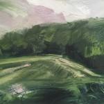 Suzanne Winn The Wood in Summer Wychwood Art Original Landscape Painting-cd83e154