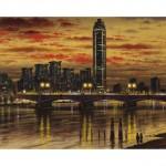 Vauxhall Bridge WB Oil 2014 51 x 76 cm (20 x 30 inch) Wychwood Art-0167c93a