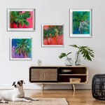 Wychwood Art Gallery Alanna Eakin all 4 palm trees-3d93ae0e