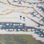 beach sunshine sparkles. gordon hunt. wychwood art. close up2-fd396459