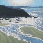 beach sunshine sparkles. gordon hunt. wychwood art. full image-591c0bb9