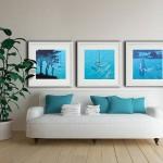 A sailing break. gordon hunt. limited edition prints. acrylic painting-43a933d6