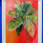 Alanna Eakin Isola Bella Palm Tree Oil Painting In Situ 3-d0ad46f1