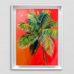 Alanna Eakin Isola Bella Palm Tree Oil Painting In white wall-e265743a