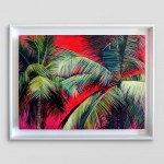 Alanna Eakin Pipa Palm Tree Oil Painting Bright Collours White Wall-a90492ec