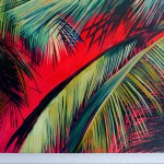 Alanna Eakin Pipa Palm Tree Oil Painting Bright Colours detail 1-a7b1f849