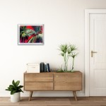 Alanna Eakin Pipa Palm Tree Oil Painting Bright Colours in situ 1-300e7c82