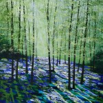 Amanda Horvath Breath of Spring Landscape Painting, Impressionist Art, Affordable Contemporary Painting-29b74346