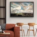 Dreaming of the Mountains II. In Situ Black Frame.Helen Howells-5c6a4e27
