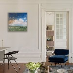Eleanor Woolley | Cotswold Landscape 2 | Landscape | Expressionistic | Impressionistic | Insitu-3-38fe24b4