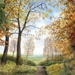 Jane Peart Bagley Woods View Wychwood Art-55378e39