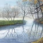 Jane Peart Mist on the River Wychwood Art-9591df2f