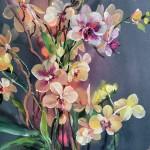 Jo Haran Orchid Scene Wychwood Art 5-d2796748