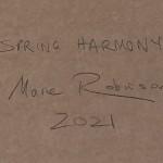 Marie Robinson Spring Harmony Wychwood Art back close up -e541e3ef