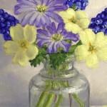 Marie Robinson Spring Posy Wychwood Art Detail 1 -eff1400b