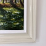 Marie Robinson Sunlit Snowdrops, Swyncombe Wychwood Art detail 2 -8bc0f8f5