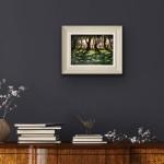 Marie Robinson Sunlit Snowdrops, Swyncombe Wychwood Art insitu 3 -68ccff0c