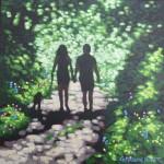 Shady lane. Gordon Hunt. Wychwood Arts. 1 image-e9b97252